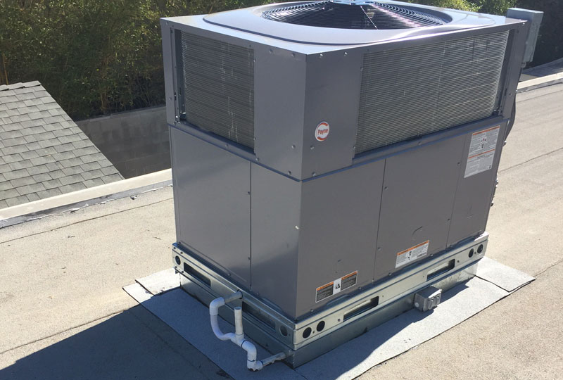 Install Rooftop Package Unit